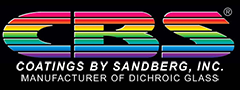 Dichroic Glass Manufacturer | Coatings by Sandberg Logo